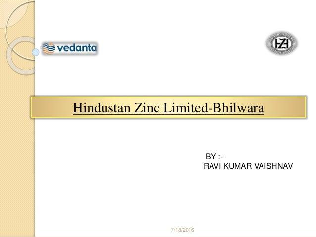 Hindustan Zinc Ltd.