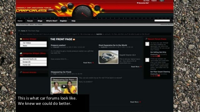 Car forums are dead.. What`s next? Slide 2