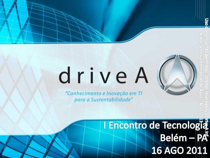 Computação em nuvemASSIS, Vinicius EmmanuelArquiteto de InfraestruturaDrive A - Belo HorizonteAgenda (00:45)              ...