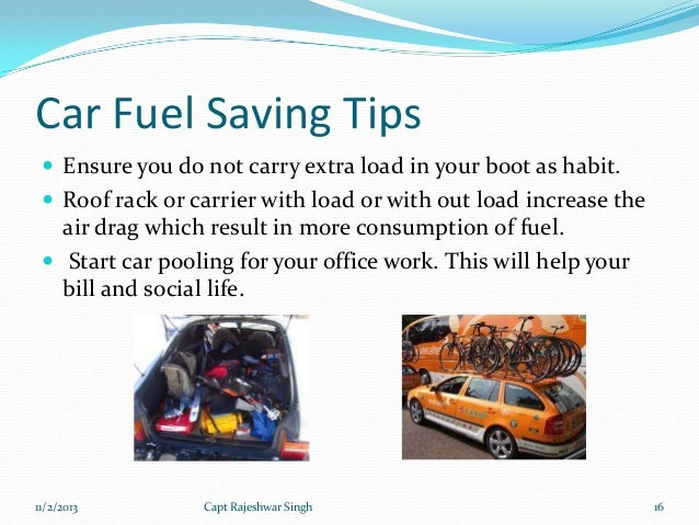 how to save fuel when driving a manual