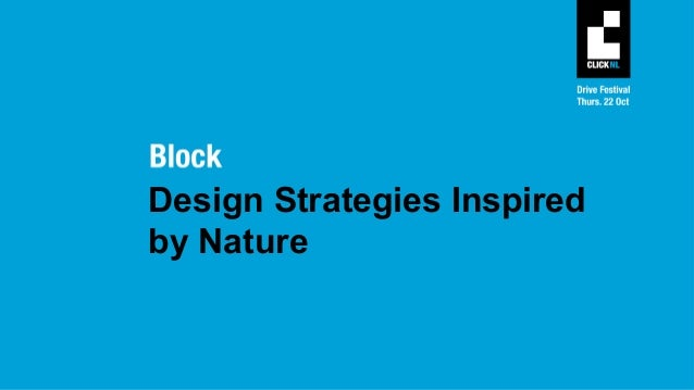 DRIVE | design strategies inspired by nature Slide 3