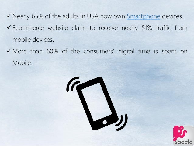  Nearly 65% of the adults in USA now own Smartphone devices.  Ecommerce website claim to receive nearly 51% traffic from...