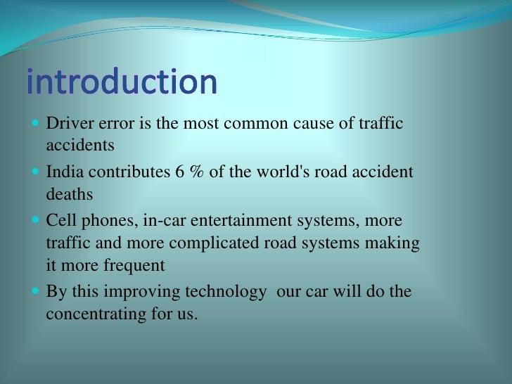 Driver-less cars by avaneesh shuka  Slide 2