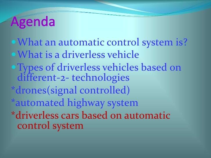 Driver-less cars by avaneesh shuka  Slide 3