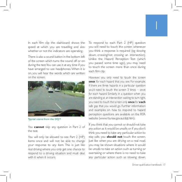 Driver Qualification Test (DQT)