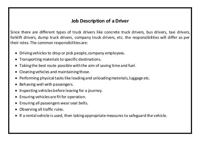 Amazing Truck Driver Resume Example Pinterest Good Looking