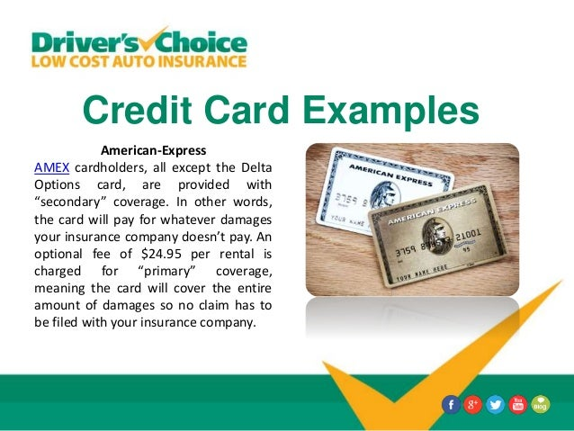 American Express Platinum Car Rental Insurance Secondary