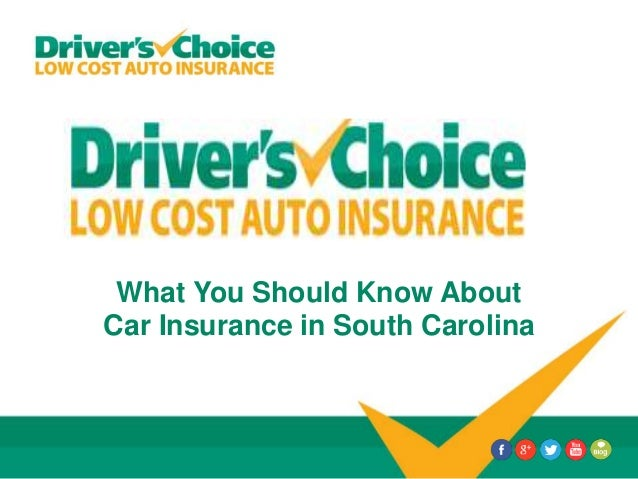 What You Should Know About Car Insurance in South Carolina