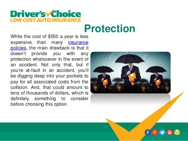Protection While the cost of $550 a year is less expensive than many insurance policies, the main drawback is that it does...