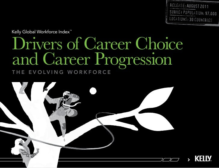 Drivers of Career Choiceand Career Progressiont h e e v o lv i n g w o r k f o r c e