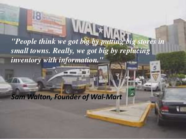 background information of sam walton the founder of wal mart Sam walton, founder of walmart, one of the world's largest corporations, and one-time richest man in the world, left an estimated $100 billion fortune to his wife and four children when he died known as mr sam, walton was an eagle scout, served as an army captain during world war ii, was an avid hunter and outdoorsman, and lived humbly.