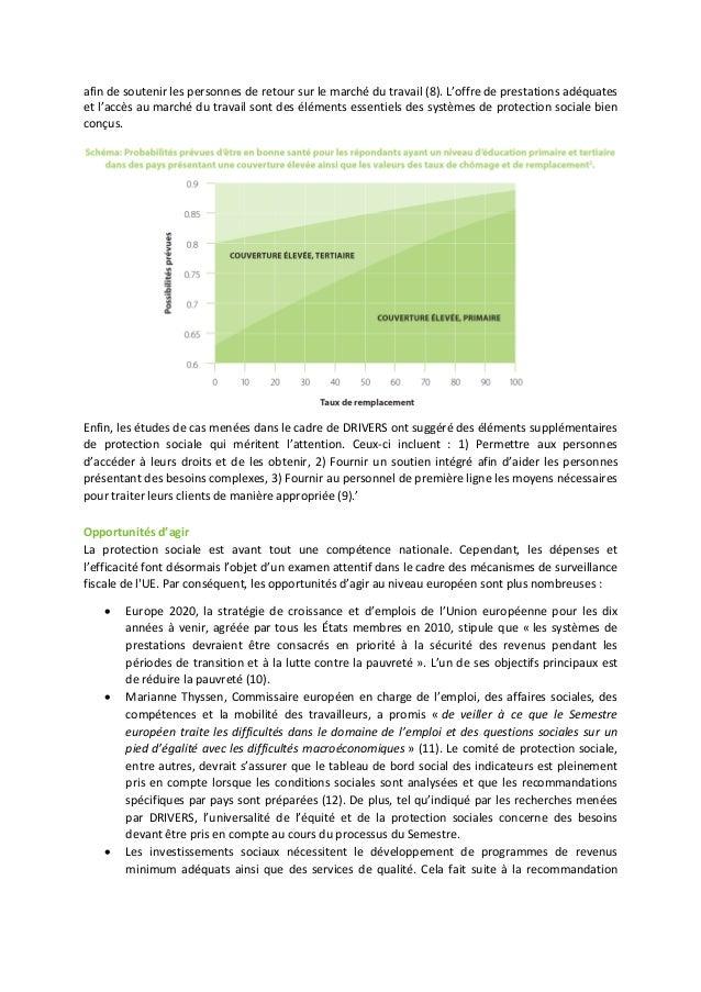 Des systèmes de protection sociale bien conçus peuvent améliorer la vie de la population et réduire les inégalités en matière de santé Slide 2
