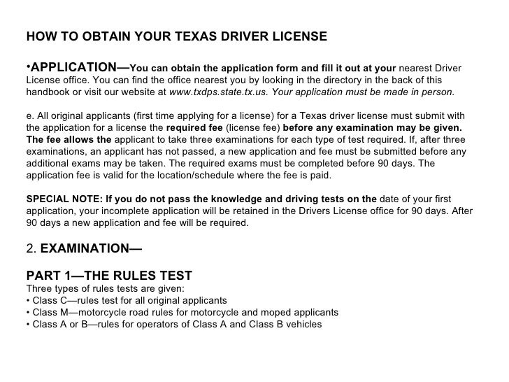 texas drivers license class types