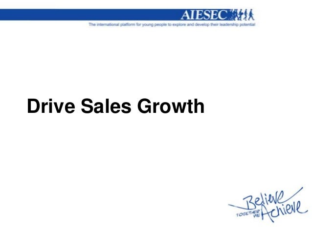 Drive Sales Growth
