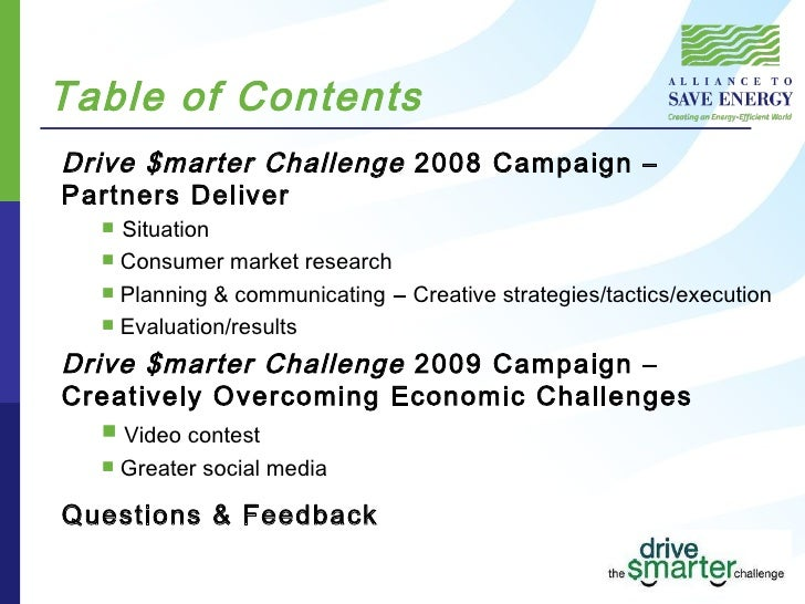 Drive Smarter Challenge 2008 09 Campaign Results 12 09 Slide 2