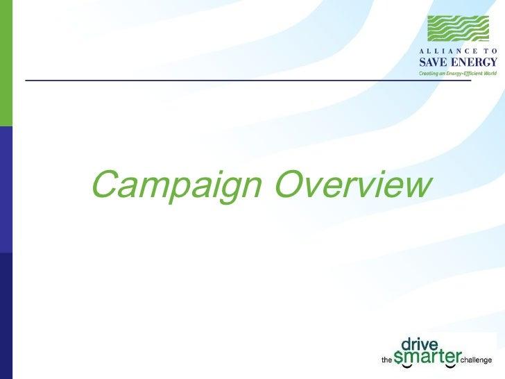 Drive Smarter Challenge 2008 09 Campaign Results 12 09 Slide 3