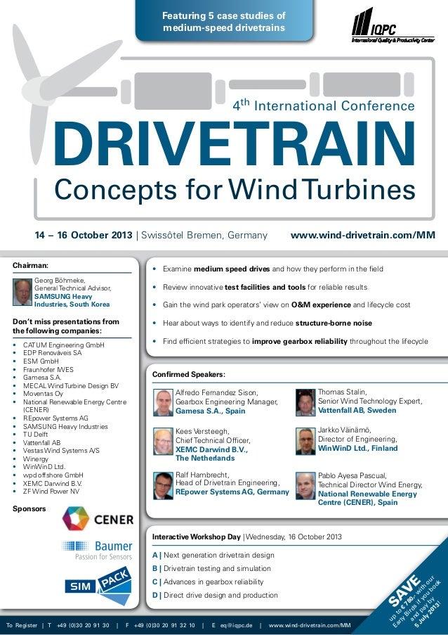 Chairman: Georg Böhmeke, General Technical Advisor, SAMSUNG Heavy Industries, South Korea Don't miss presentations from th...
