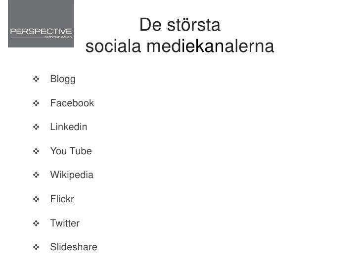 Facebook i världen<br />
