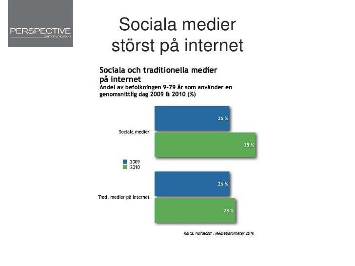 Vad skiljer Sociala medier från andra medier?<br />
