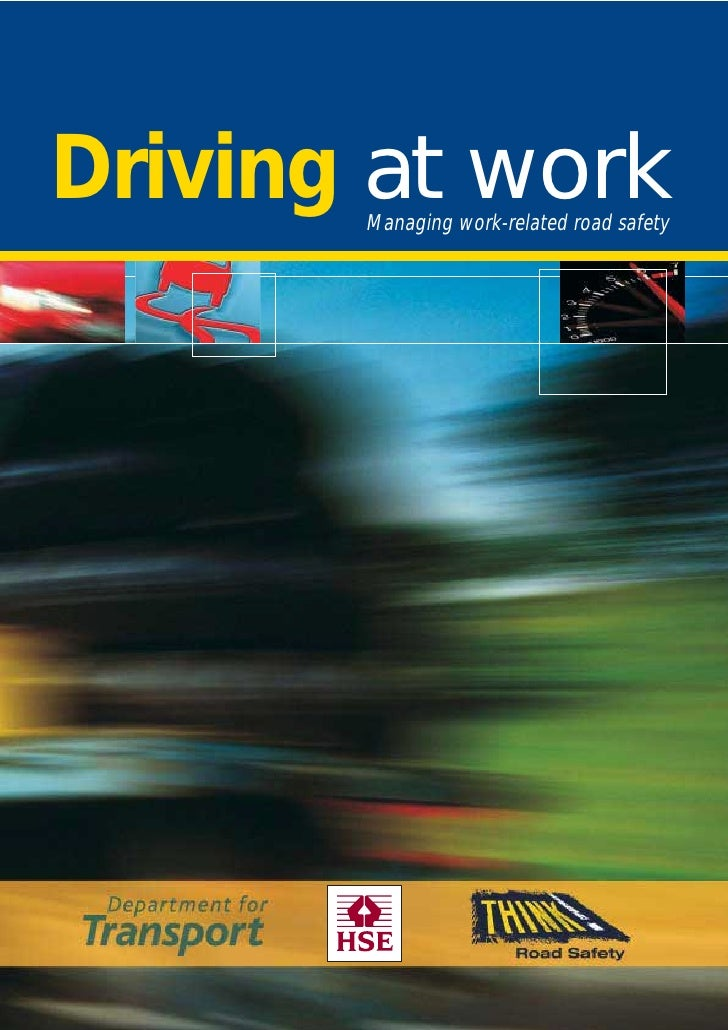 Driving at Work HSE Guide
