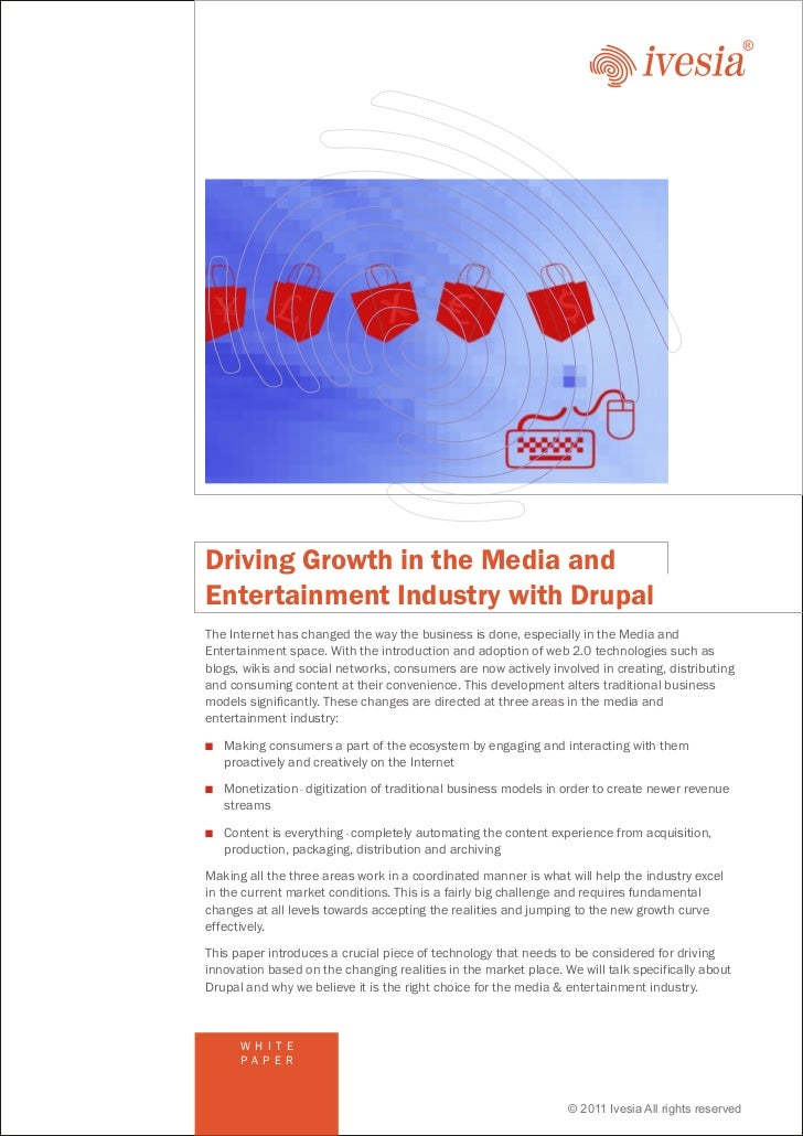 Media & Entertainment Industry using Drupal CMS