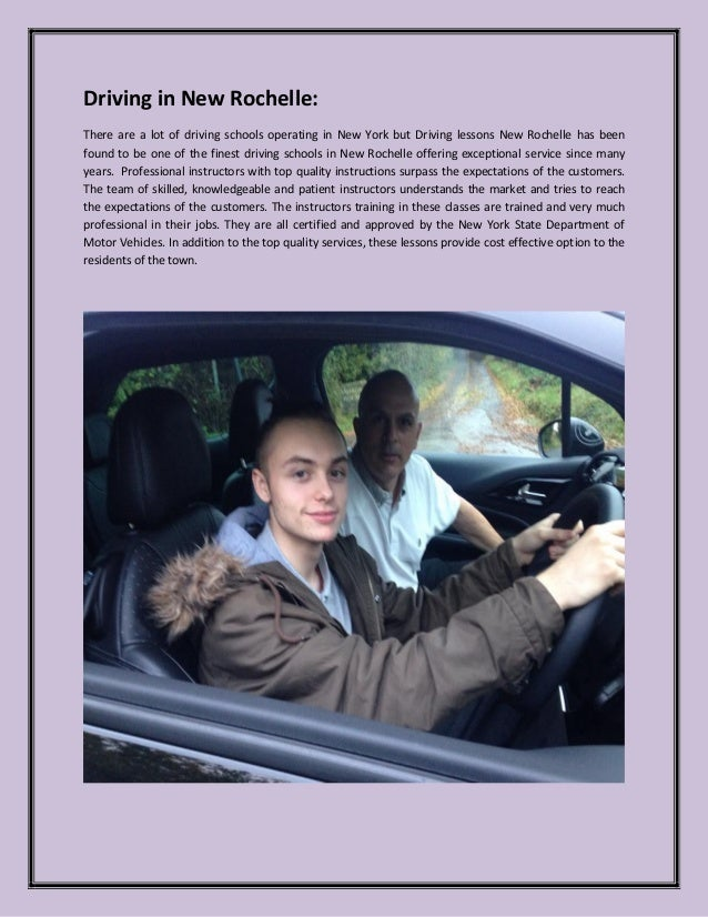 Driving Lessons New Rochelle