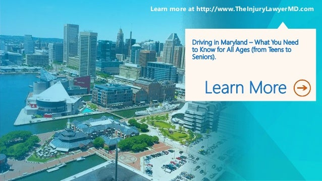 Driving in Maryland – What You Need to Know for All Ages (from Teens to Seniors). Learn More Learn more at http://www.TheI...