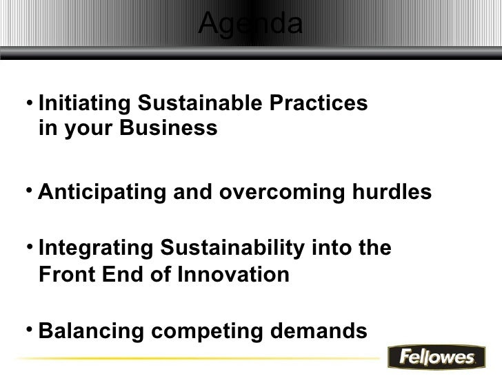 Driving Profitability With Sustainable Business Practices