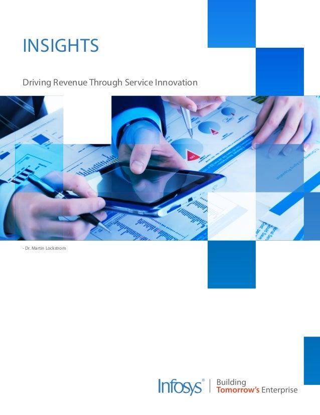 - Dr. Martin Lockstrom Driving Revenue Through Service Innovation INSIGHTS