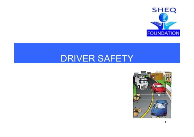 DRIVER SAFETY 1