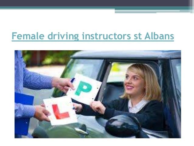 Female driving instructors st Albans