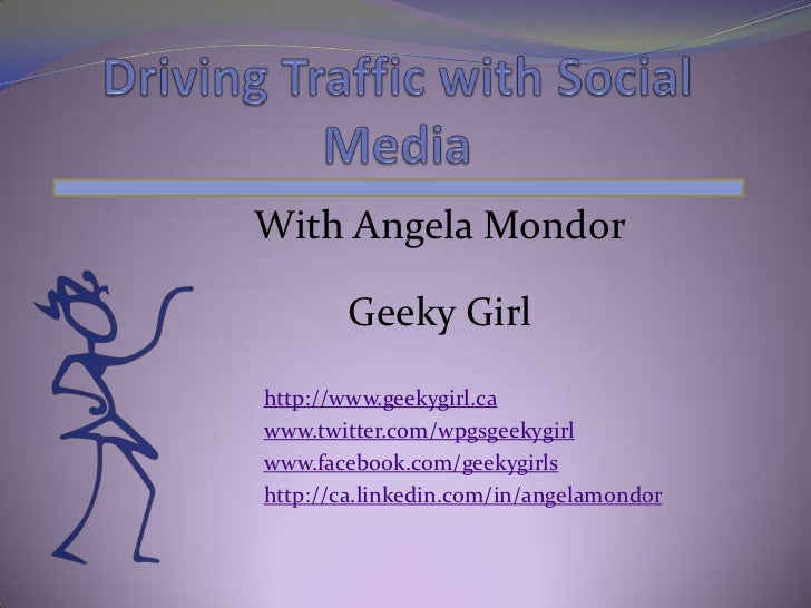With Angela Mondor        Geeky Girlhttp://www.geekygirl.cawww.twitter.com/wpgsgeekygirlwww.facebook.com/geekygirlshttp://...