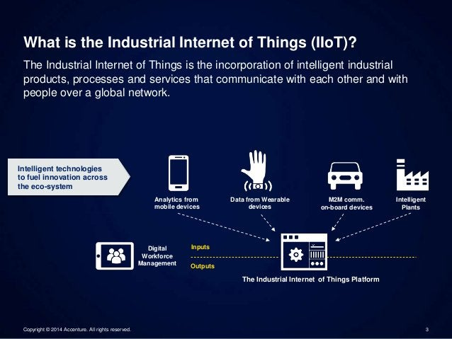 What is the Industrial Internet of Things (IIoT)?  The Industrial Internet of Things is the incorporation of intelligent i...
