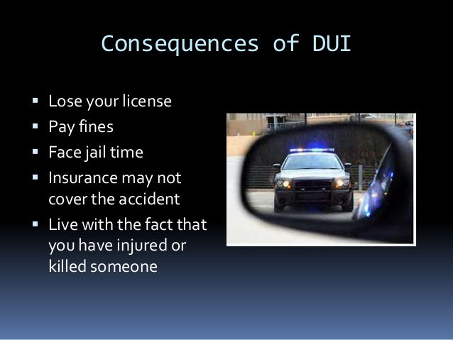 Driving under the influence essay