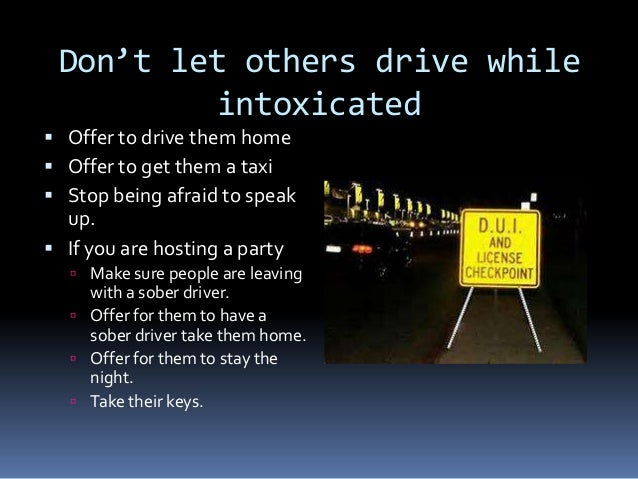 driving under the influence powerpoint