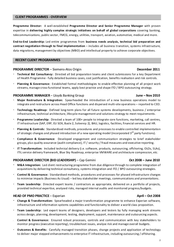 chief executive officer resume executive officer resume