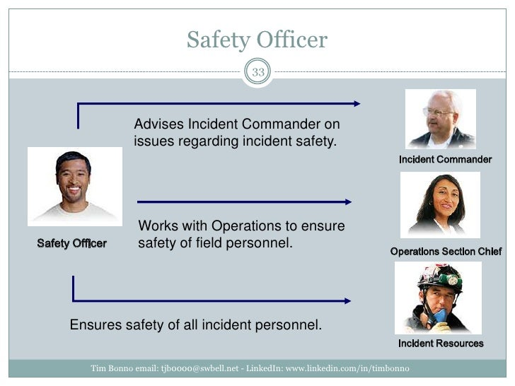 Safety Officer<br />Tim Bonno email: tjb0000@swbell.net - LinkedIn: www.linkedin.com/in/timbonno<br />Advises Incident Com...