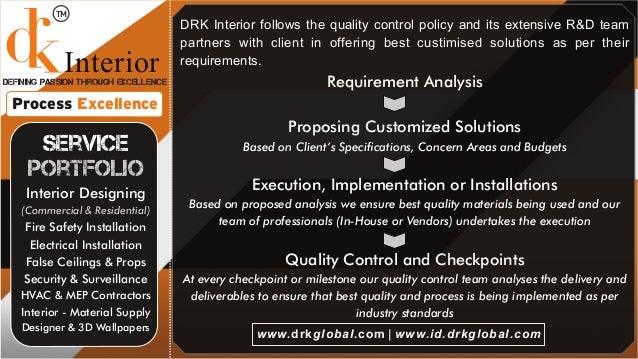 drk global interior design company delhi noida