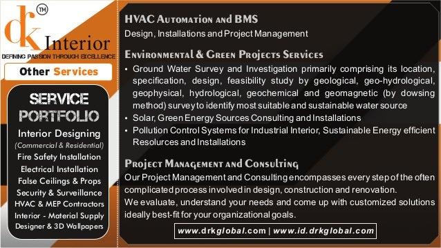 DRK Global - Interior Design Company Delhi - Noida
