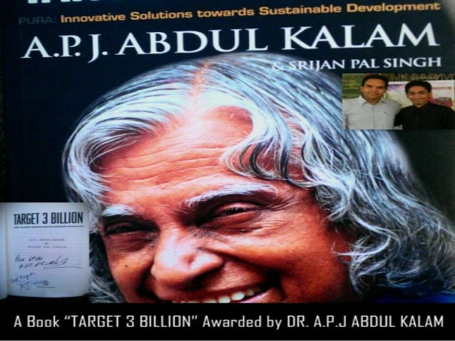 Target 3 Billion Book