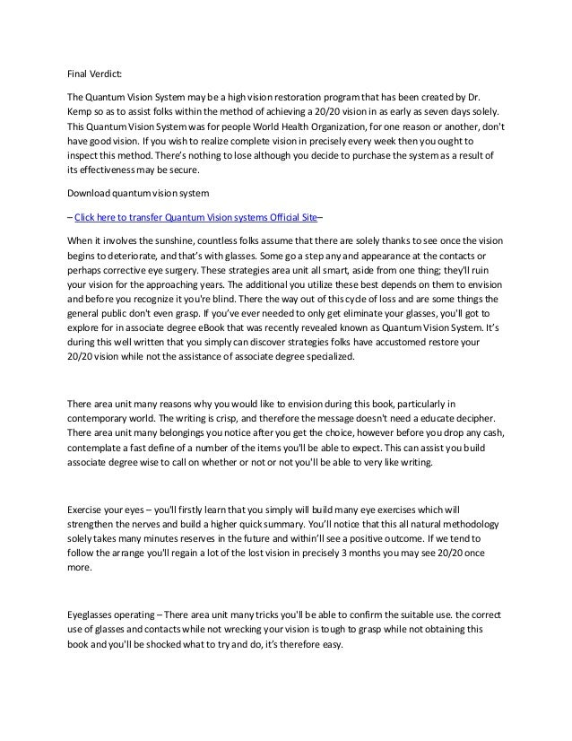 Free quantum ebook system download vision
