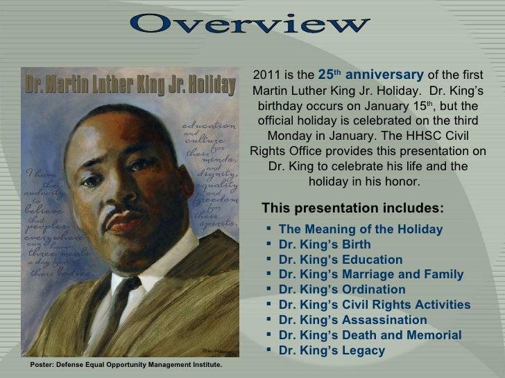 Dr. Martin Luther King, Jr. Slide 2
