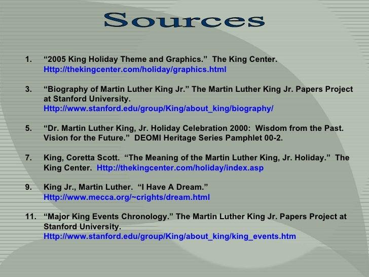 """<ul><li>"""" 2005 King Holiday Theme and Graphics.""""  The King Center.  Http://thekingcenter.com/holiday/graphics.html </li></..."""