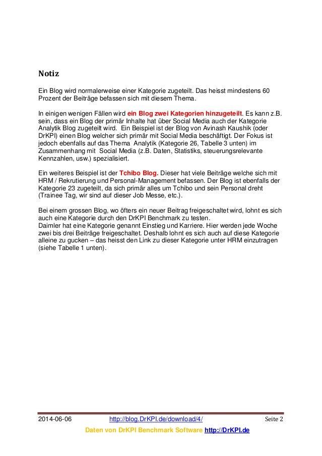 DrKPI TOOL: Why Benchmark Blog? Slide 2