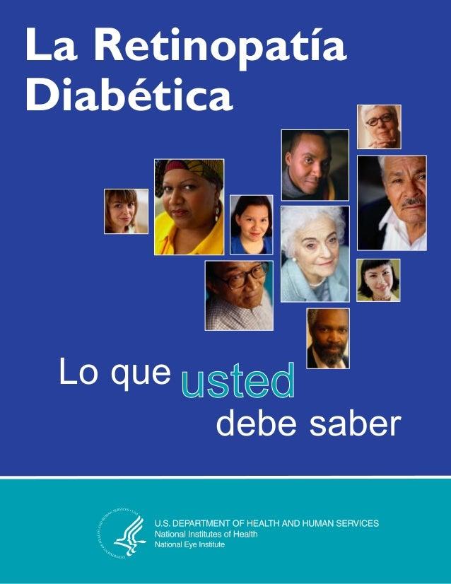 La Retinopatía Diabética Lo que debe saber