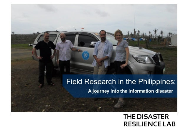 Field Research in the Philippines: A journey into the information disaster