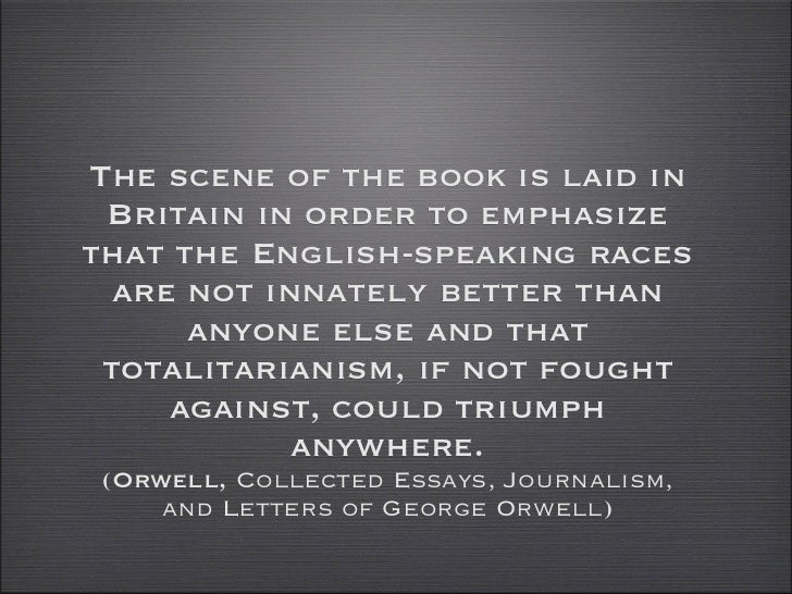 Orwell collected essays
