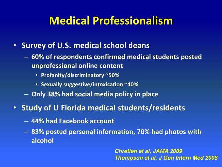 Medical Blogs: Privacy and Marketing                   Lagu et al, J Gen Intern Med 2008