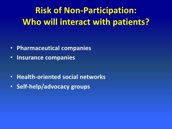 Platform or Researcher?• PatientsLikeMe has published 15 peer-reviewed  articles researching its own community• J Med Inte...