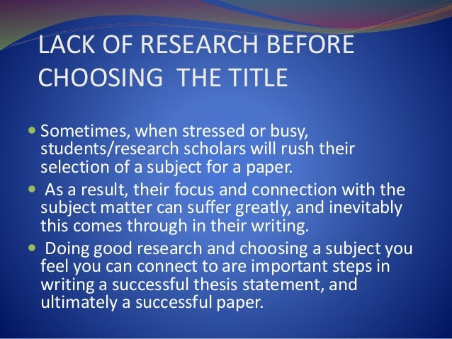 steps in writing a research thesis This article summarizes the 5 key steps for successfully writing a thesis proposal that can be completed on time and prepares you for your ideal career.